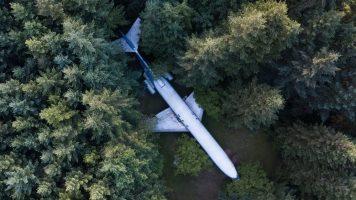 Das verwandelte Flugzeug