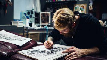 Ein Mann illustriert den Alltag mit seiner Ehefrau - rührend schöne Bilder